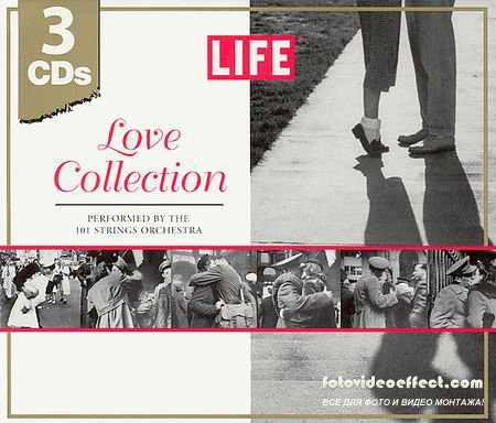 101 Strings - LIFE: Love Collection [3 CD Set] (2003)
