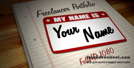 Freelancer Portfolio - Hi, My Name is... - Project for After Effects (Videohive)
