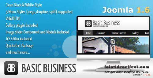 Basic Business - Thivtr Joomla 1.6 Template
