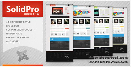 ThemeForest - Solid Pro - Creative Joomla 1.6 Theme
