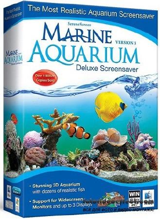 SereneScreen Marine Aquarium Deluxe 3.2.5991 + Rus