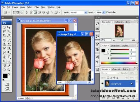 Как сделать из фотографии памятный подарок программой Photoshop