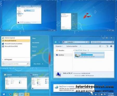 Класическая тема для Windows 7