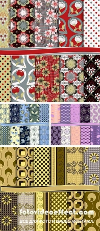 Stock: Abstract vector set of paper for scrapbook