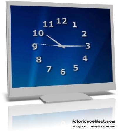TheAeroClock 3.35 + x64 - Часы для рабочего стола