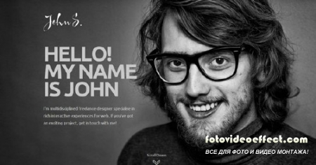 GK John - GavickPro Responsive One Page Portfolio