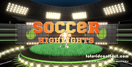 Soccer Highlights Ident Broadcast Pack - Project for After Effects (Videohive)