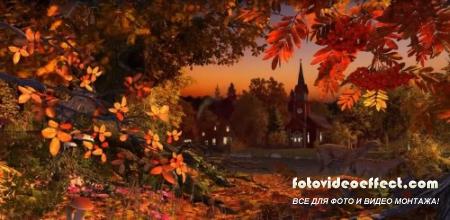 Раскраски осеннего леса